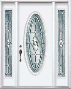 Front Entry Door and Two SideLights 8