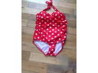 New costume red spotted xl