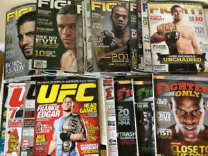 UNCUT Rock N Roll & MMA Magazine Collections