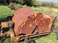 VINTAGE HAY TURNER - TRACTOR TOWED - VERY RARE - CIRCA 1950'S