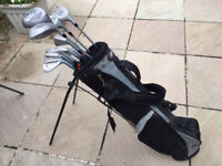 Golf Clubs + Carry/Stand Bag