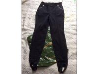EA7 Emporio Armani Warm Trousers RRP £225 L EA7 Emporio Armani Trousers RRP £225 New with tag