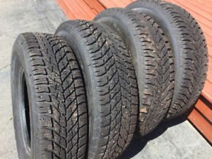 Like new winter tires for sale
