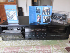 Stereo Cassette Tape Deck includes Beatles Tapes