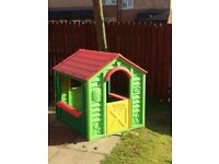 Kids plastic indoors outdoor play house