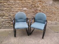 2 x reception room chairs