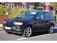 LHD LEFT HAND DRIVE BMW X5 12/2002 4X4 EXECUTIVE AUTOMATIC, LEATHER , LOADED, VERY CLEAN CAR