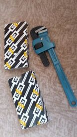 NEW - ELORA One hand pipe wrench, span width 38 mm, ELORA-75-14