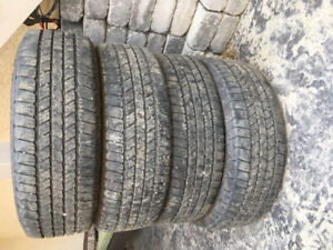 Used 265/65 R18 tires for sale