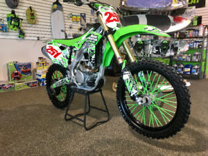 2014 KX 250F very clean low hours!