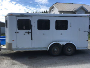 2006 Hawk 3Horse Angle haul Trailer