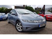 2009 HONDA CIVIC 2.2 I-CTDI,ONE OWNER,FULL HEATED LEATHER,6 SPEED,EXCELLENT CONDITION
