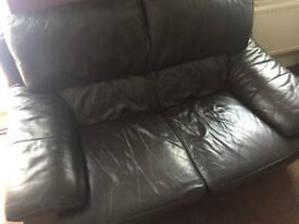 Free - 3 seat & 2 seat leather sofas