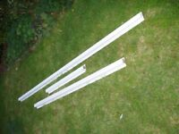 Cavity wall closers, plastic, fibre glass filled, for 50mm cavity