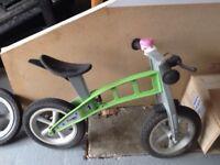 """Firstbike"" balance bikes"