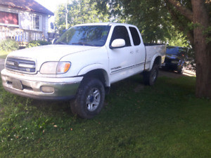 Parting out 2000 toyota tundra