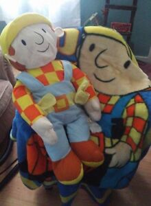 Bob the Builder Blanket and Stuffed Toy