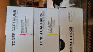 Color Laserjet series toner HP printers