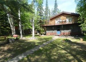 Huge 1,919 sqft Cabin For sale with Lake access and Dock