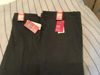 Marks and Spencer's grey school trousers