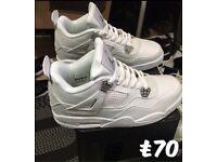 Jordan Retro 4 white