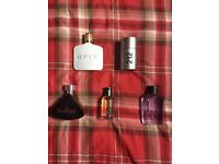 Selection of fragrances