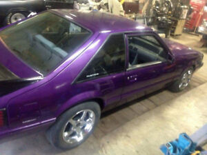 1987 stang trade  for 87 n down  shortbox chevy