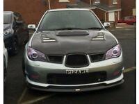 Highly modified Subaru Impreza