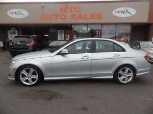 2008 Mercedes-Benz C-Class 300, SUNROOF, LEATHER, 4 MATIC
