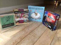 Set of family board games pristine condition