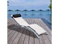 Adjustable Garden Outdoor Sun Lounger