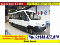 2007 - 57 - IVECO IRISBUS 50C15 3.0 17 SEAT DISABLED ACCESS BUS (GUIDE PRICE)