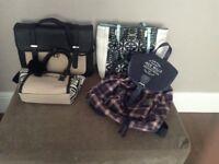 Girls bags 2 x River Island, 1 x Jack Wills, 1 x unnamed