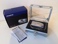 *RARE* Olympus mju ii Style 35mm Film Camera with ORIGINAL BOX & CASE