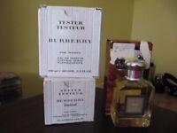 Tester fragrances for sale.