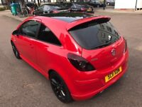 Red Vauxhall Corsa 1.2 i 16v Limited Edition 3dr (a/c) HPI Clear, FSH, Bodykit, Immaculate