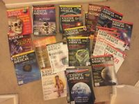 Job Lot of 42 Scientific American Magazines