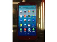 Samsung galaxy S3 unlocked red clour