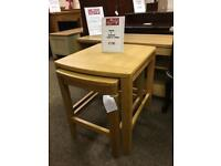 Solid oak Marks & Spencer nest of tables * free furniture delivery*