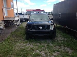 Nissan Frontier NISMO accidenté