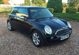 2005 Black 1.6l Mini Cooper