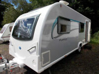 Bailey Pursuit 540-5 2014 Lightweight 5 Berth Touring Caravan With MotorMover