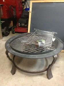 Fire pit and grill $40