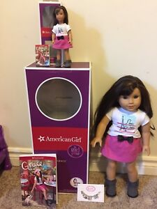 American girl doll large and mini