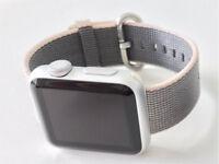 Apple Watch Nylon Band - 38mm Pearl