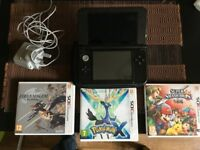 Nintendo 3DS XL + games for sale