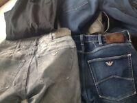 Designer men's clothing bundle