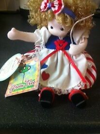 Collectors Green Tree American China Doll