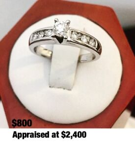 14K GOLD DIAMOND ENGAGEMENT RINGS from $350 - $800 *See Photos