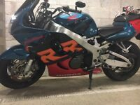 Honda Fireblade - Yoshimura exhaust. Recent new tyres, service & MOT/ R tax. Excellent condition